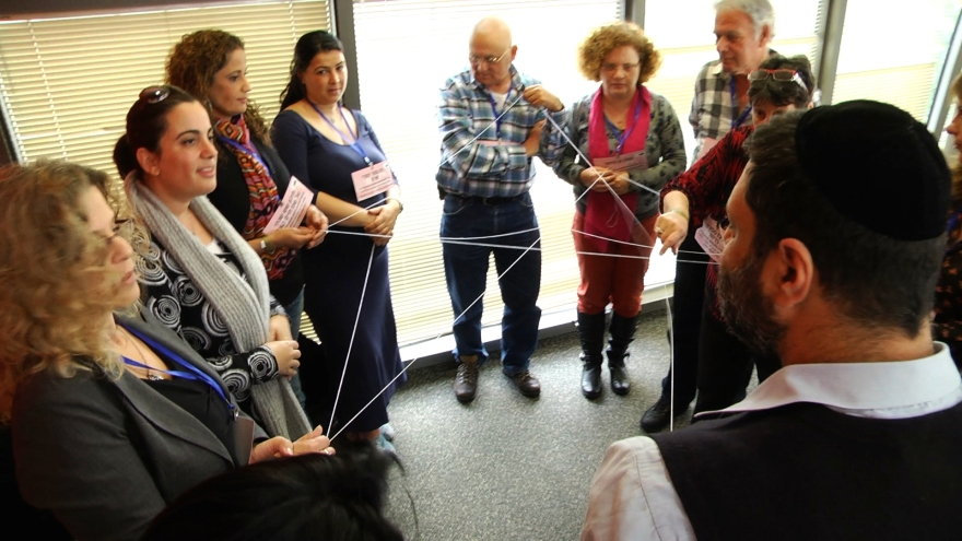 Work plans of Holon Municipality have been presented through games