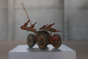 A winged, manually motored tractor, Yehuda Chen